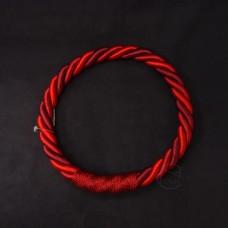 ASCA 裝飾A-72137-002繩花圈紅
