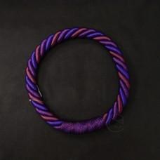 ASCA 裝飾A-72137-007繩花圈紫色