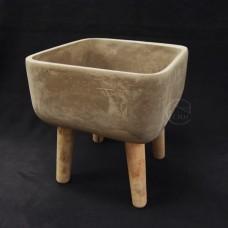 水泥-102-1水泥花器