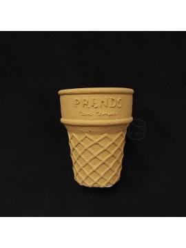 陶瓷-Green House 花器4447-BS冰淇淋杯(黃)
