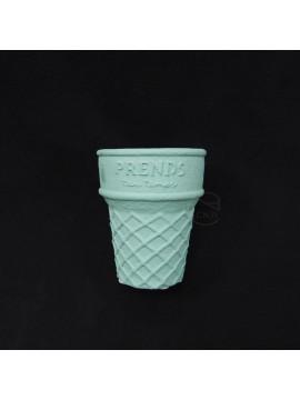 陶瓷-Green House 花器4448-BS冰淇淋杯(藍)