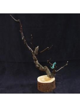花器 圓木樹枝
