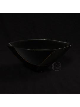 陶瓷-同心湖(黑)