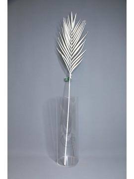 人造葉 FG005213-001 棕櫚葉 白