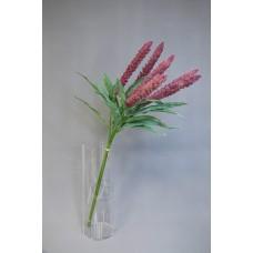 人造花 6枝小米把束 紫紅