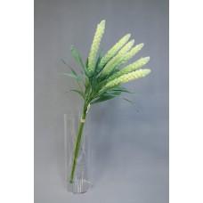 人造花 6枝小米把束 黃