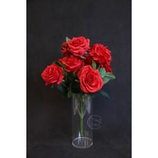 人造花 玫瑰束10頭