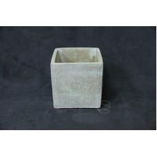 WJ086水泥花器10X10X10cm