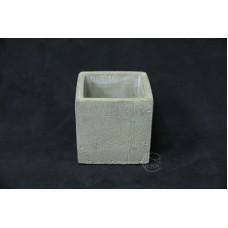 WJ087水泥花器8X8X8cm