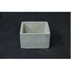 WJ7103水泥花器10X10X6cm
