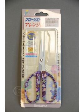 剪刀-工具 2AH000359 花藝剪刀 復古紫