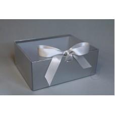 包裝 紙花盒 7968 大 銀 24.5X19XH10