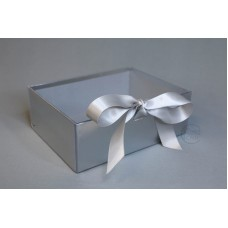 包裝 紙花盒 7968 小 銀 22x17xH8
