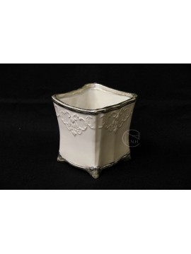 陶瓷-CLAY 花器 120-785-175 小 淺灰