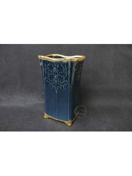 陶瓷-CLAY 花器 120-787-695 大 海軍藍 L15