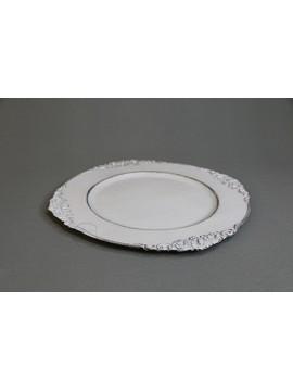 塑膠-花器 45375 白 Ø31.5XH2cm