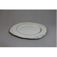 塑膠-花器 45399 淺灰 Ø31.5XH2cm