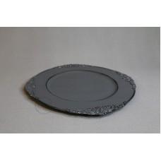 塑膠-花器 45400 深灰  Ø31.5XH2cm