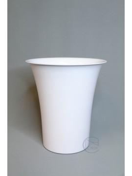 塑膠花器-10'冷藏花筒 白色