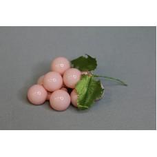 特價品 葡萄花插 塑膠 粉