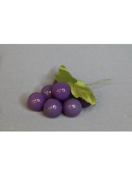 特價品 葡萄花插 塑膠 紫