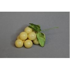 特價品 葡萄花插 塑膠 黃