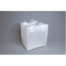 包裝-袋 HD SS CHECKER 22x20xH25cm