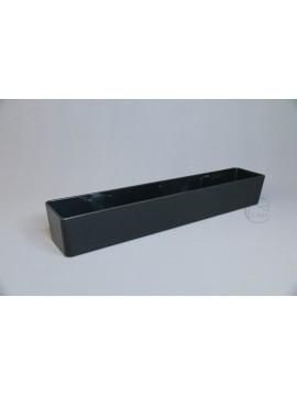 塑膠-大窄長方 黑