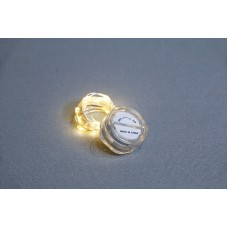 材料-LED防水銅線燈-黃燈 2米