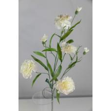 人造花 康乃馨 白