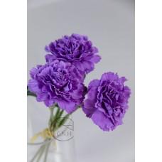 人造花  康乃馨 紫