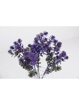 人造葉 觀音草 紫