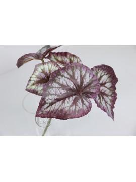 人造葉 短枝海棠葉 紫