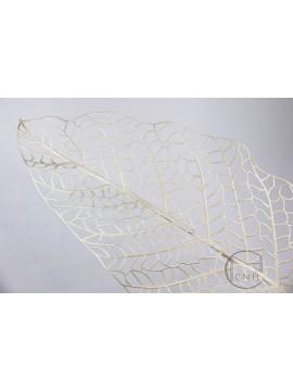 人造葉 網狀闊葉 米白