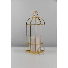 陶瓷 黃冠金+陶瓷白杯花插