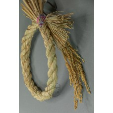 注連繩 H222502 有稻穗