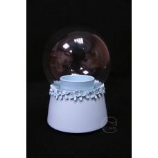 樹脂+玻璃音樂盒 藍色