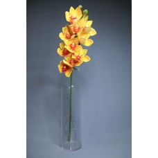 人造花 3D大蕙蘭 黃
