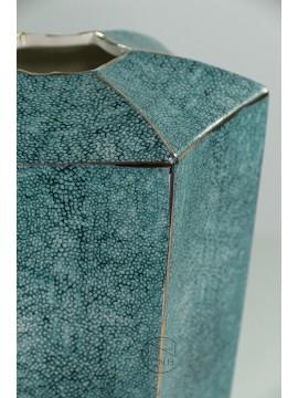 18407BD 陶瓷花瓶(藍) H31xW19