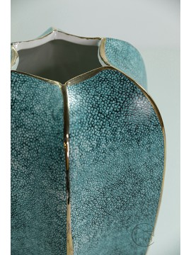 18409BD 陶瓷花瓶(藍) H27xW17
