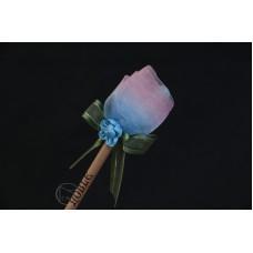 特價品 朵朵小花鉛筆 粉藍色 枝