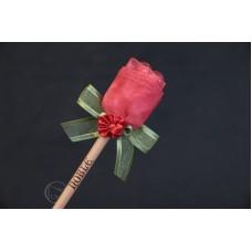 特價品 朵朵小花鉛筆 紅色 枝