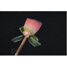 特價品 朵朵小花鉛筆 淡紅色 枝