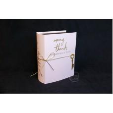 包裝 紙書花禮盒 24x19xH9 粉