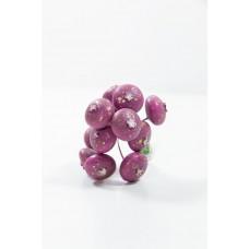 特價品 果實花插 紫紅