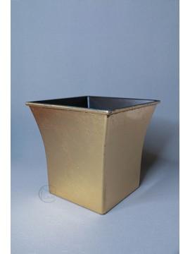 花器 HP0215-19 18.5x13.5x18cm 金