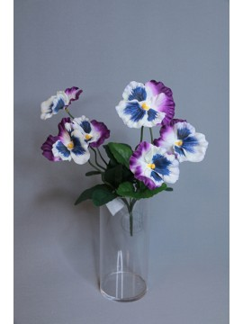 MAGIQ 人造花 FM001394-117 三色堇 紫