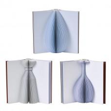 花器 CF0FT002 摺頁書本花器02