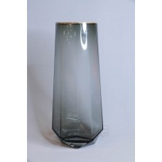V1330鑽石煙灰金口玻璃 10X30CM