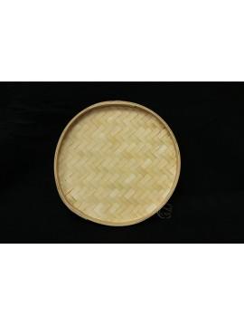 編織-圓形竹盤 30cm